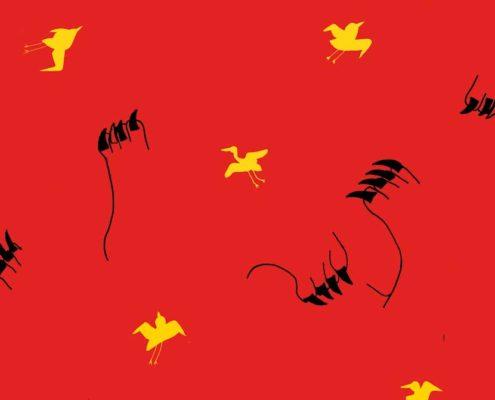 Composition oiseaux - Lise Iris