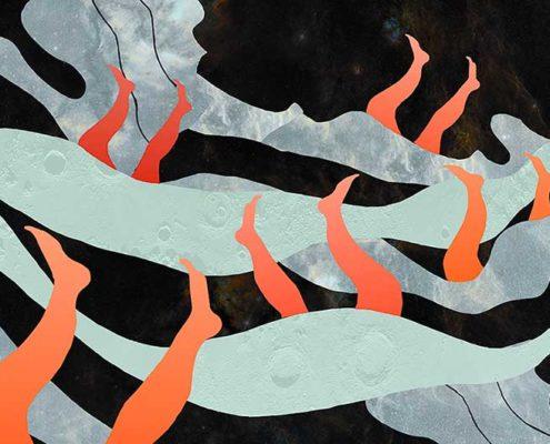 Les Nageuses - Lise Iris