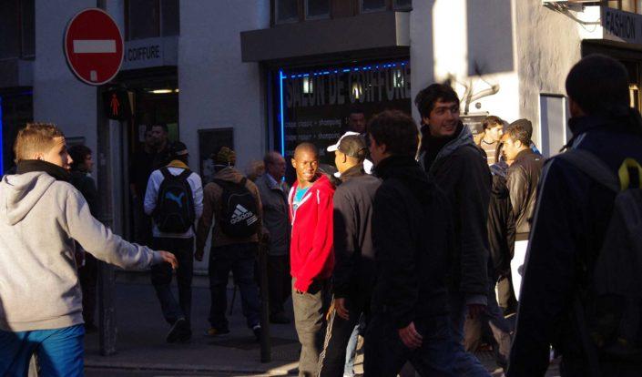 Manifestation contre la réforme des retraites - Lyon 2013